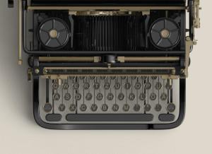 Schreibmaschine Footer