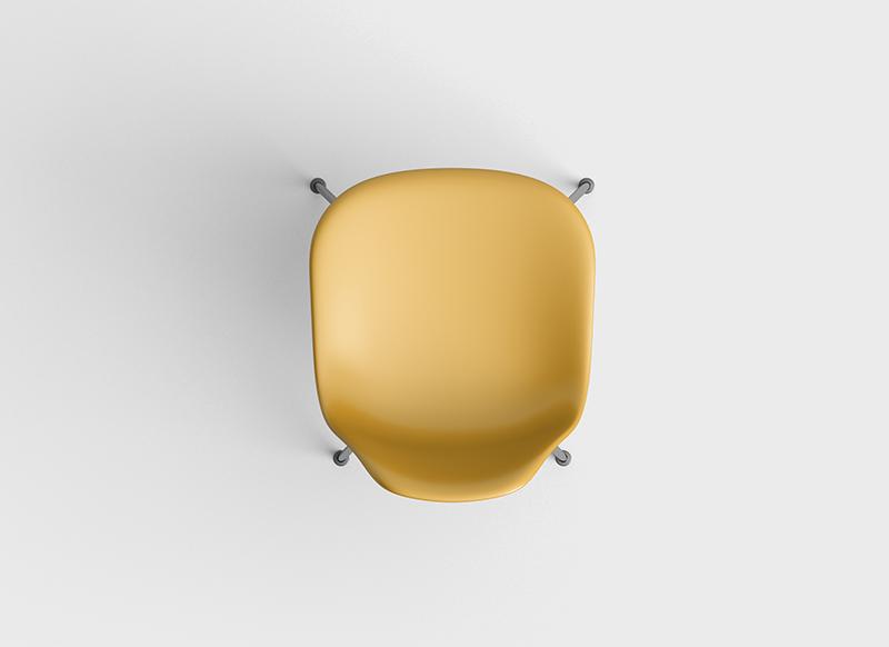 Stuhl gelb